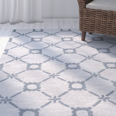 East Providence Hand-Tufted Gray Area Rug