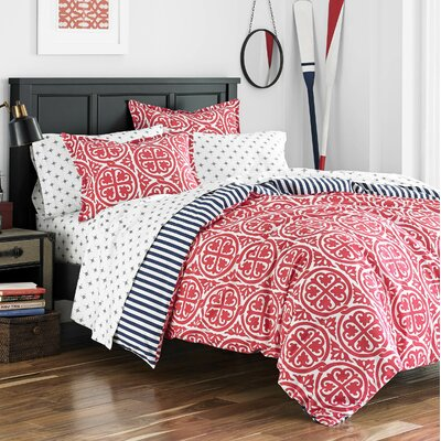 Millside Duvet Cover Set Size: Full / Queen
