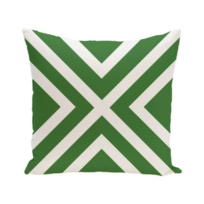 Greater Northdale Outdoor Throw Pillow Color: Leaf Green, Size: 16 H x 16 W x 1 D