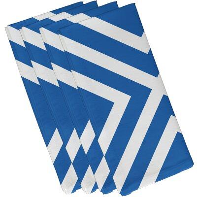 Jackson Stripe Napkin Size: 10
