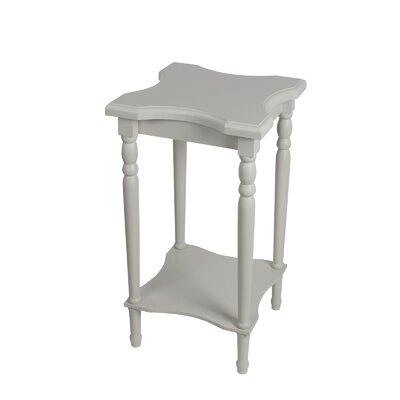 Sandalwood End Table Finish: White