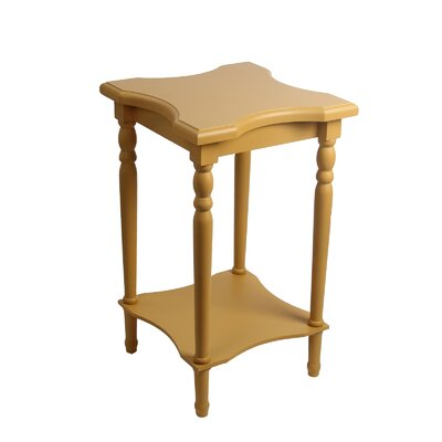Sandalwood End Table Finish: Yellow