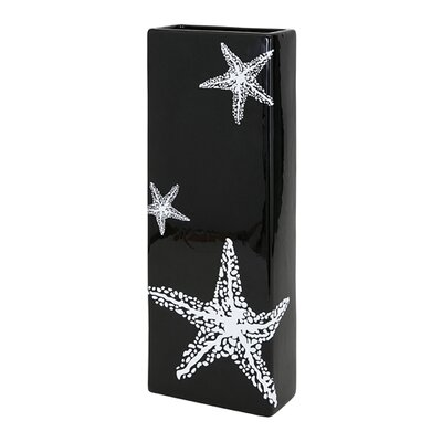 Starfish Rectangle Ceramic Vase