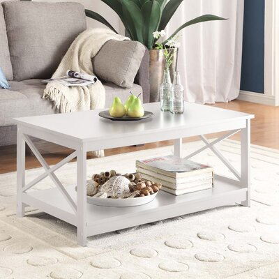 Stoneford Coffee Table Color: White