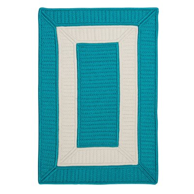 Kenton Blue Indoor/Outdoor Area Rug Rug Size: 2 x 3