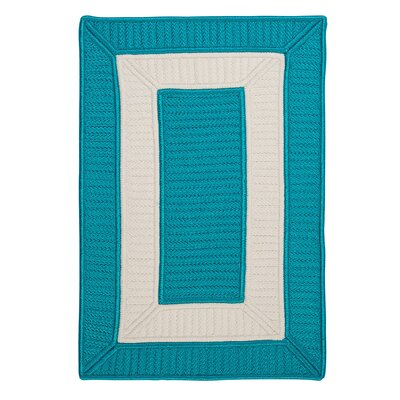 Kenton Blue Indoor/Outdoor Area Rug Rug Size: Runner 2 x 6