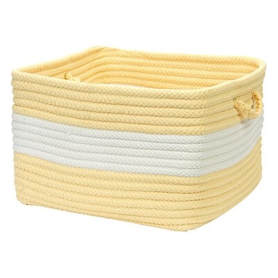 Kenton Utility Basket Color: Yellow, Size: 10