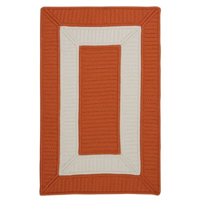 Kenton Orange Indoor/Outdoor Area Rug