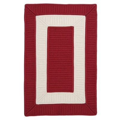 Kenton Red Indoor/Outdoor Area Rug Rug Size: Rectangle 8 x 11