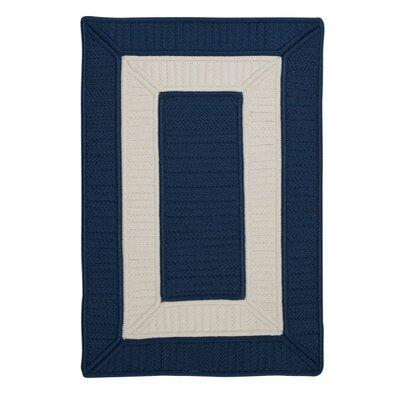 Kenton Blue Indoor/Outdoor Area Rug Rug Size: 8 x 11