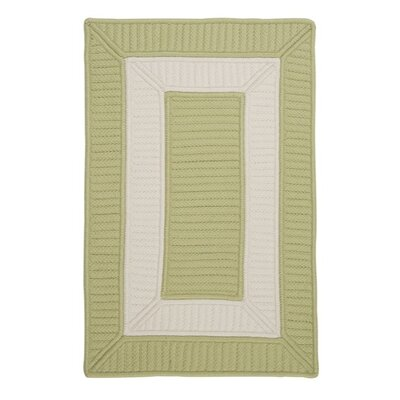 Kenton Green Indoor/Outdoor Area Rug Rug Size: Runner 2 x 6