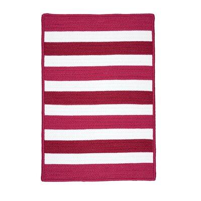 Eagle Lake Striped Indoor/Outdoor Area Rug Rug Size: Square 4