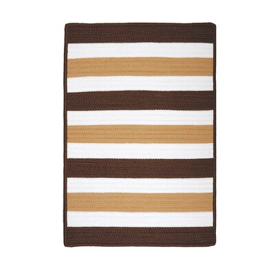 Andover Espresso Indoor/Outdoor Area Rug Rug Size: Square 12