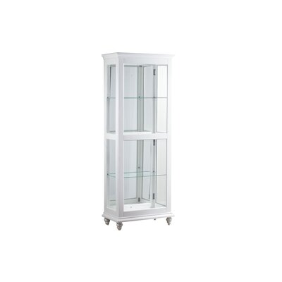 Quillen Lighted Curio Cabinet