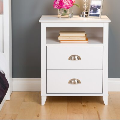 Pinyon 2 Drawer Nightstand