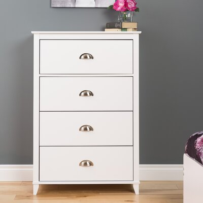 Pembrooke Vertical 4 Drawer Chest