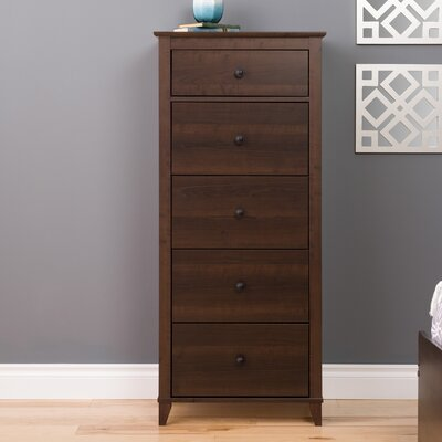 Pembrooke Vertical 5 Drawer Chest