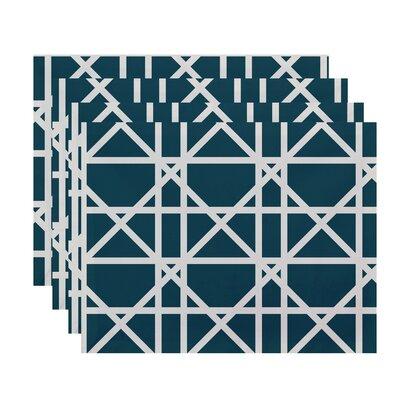 Breakwater Bay Osage Trellis Geometric Print Placemat