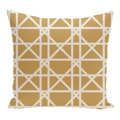 Breakwater Bay Felles Geometric Print Throw Pillow