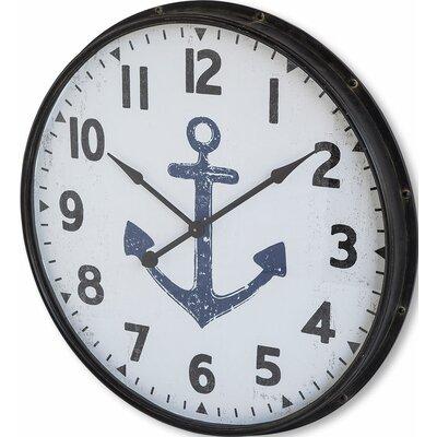 36 Round Wood Wall Clock