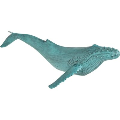 Duprey I Whale Sculpture Wall Decor