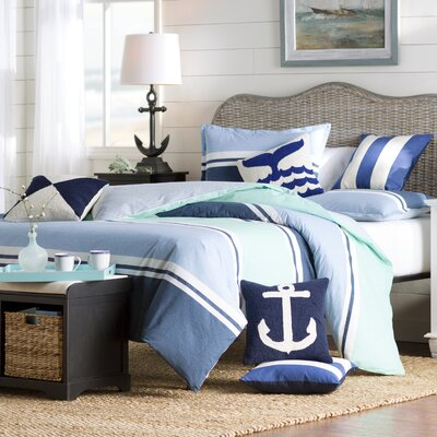 Breakwater Bay Flagg Duvet Cover Set