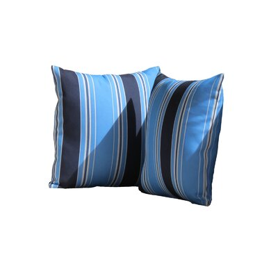 Breakwater Bay Mascotte Stripe Indoor/Outdoor Throw Pillow