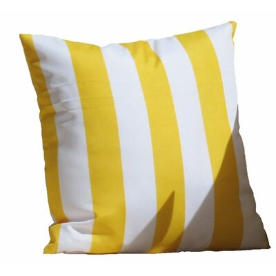 Montego Outdoor Throw Pillow Color: Yellow