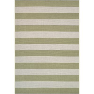 Gallinas Honey/Ivory Indoor/Outdoor Area Rug Rug Size: Runner 22 x 710