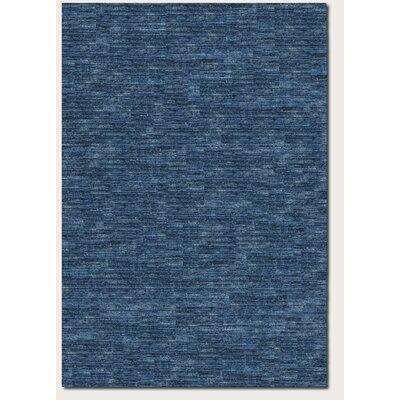 Bayside Indigo Hand-Woven Blue Area Rug