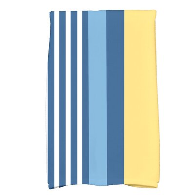 Bartow Stripe Yellow/Blue Hand Towel