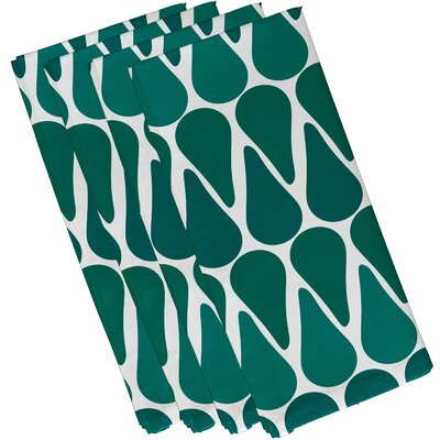 Bartow Watermelon Seeds Napkin Color: Teal
