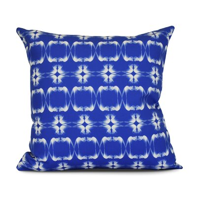 Golden Gate Square Outdoor Throw Pillow Size: 18 H x 18 W x 3 D, Color: Blue
