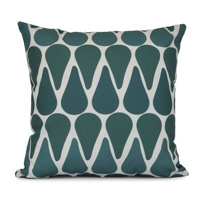 Golden Gate Throw Pillow Size: 16 H x 16 W x 3 D, Color: Teal