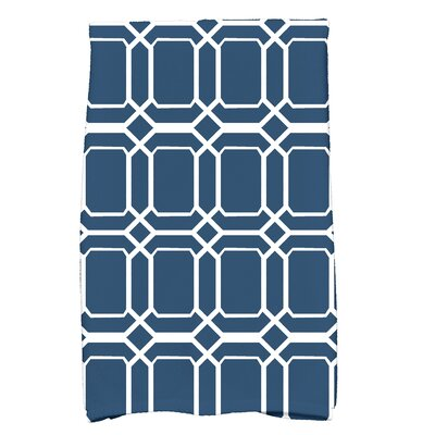 Golden Gate Coastal  Hand Towel Color: Blue