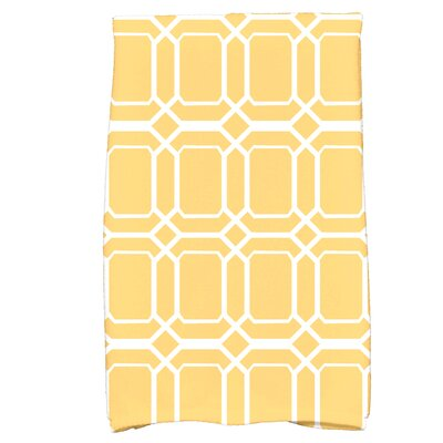 Golden Gate Coastal  Hand Towel Color: Yellow
