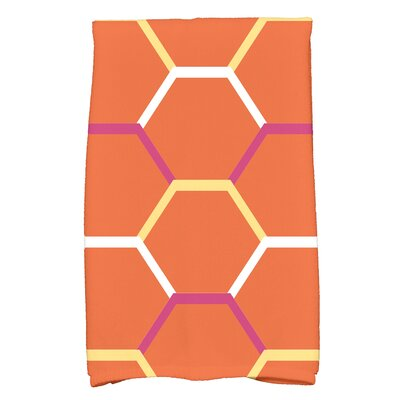 Golden Gate Cool Shades Hand Towel Color: Orange