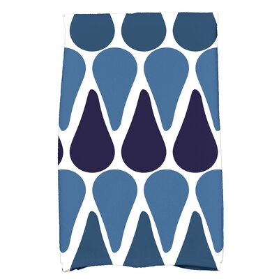 Golden Gate Hand Towel Color: Navy Blue
