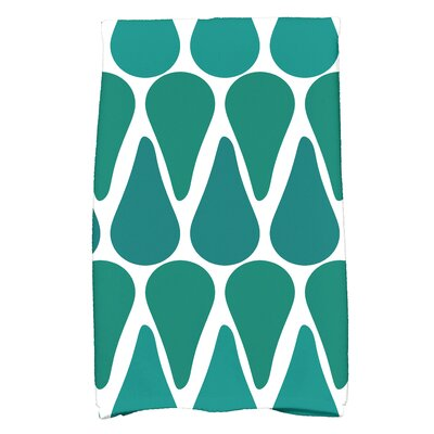 Bartow Watermelon Seeds Hand Towel Color: Teal