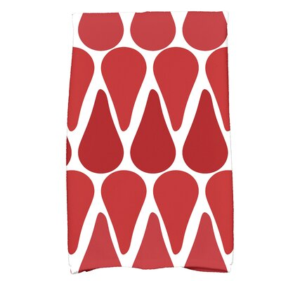 Golden Gate Hand Towel Color: Red