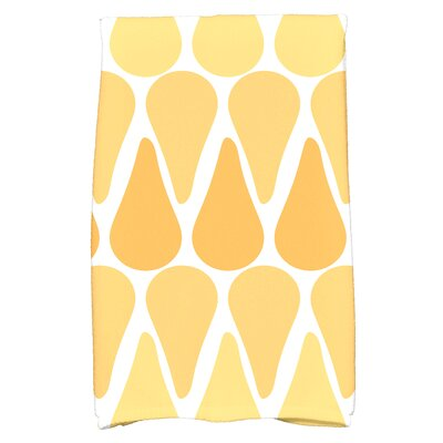 Bartow Watermelon Seeds Hand Towel Color: Yellow
