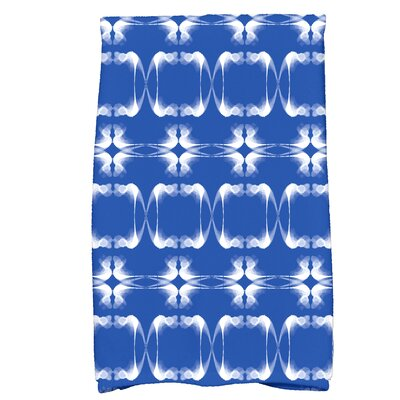 Golden Gate Rectangular Hand Towel Color: Blue