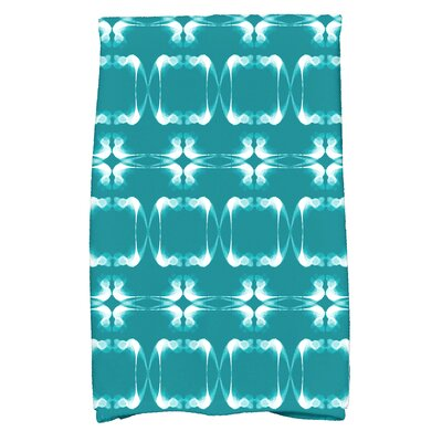 Golden Gate Rectangular Hand Towel Color: Teal