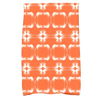 Golden Gate Rectangular Hand Towel Color: Orange