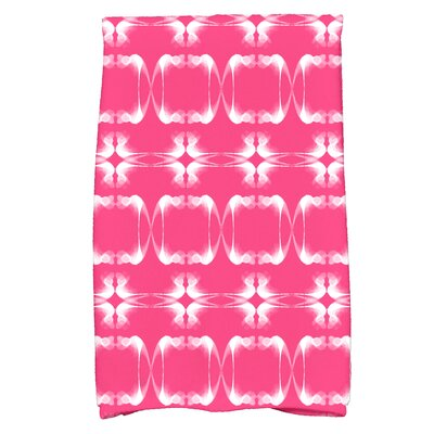 Golden Gate Rectangular Hand Towel Color: Pink