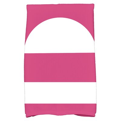Golden Gate Geometric Bath Towel Color: Pink