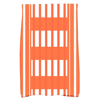 Bartow Beach Blanket Hand Towel Color: Orange