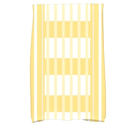 Bartow Beach Blanket Hand Towel Color: Yellow