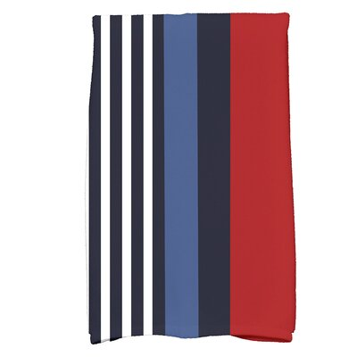 Bartow Beach Shack Hand Towel Color: Red