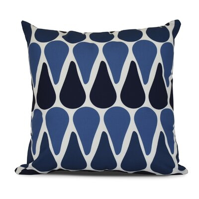 Bartow Watermelon Seeds Outdoor Throw Pillow Color: Navy Blue, Size: 16 H x 16 W x 3 D